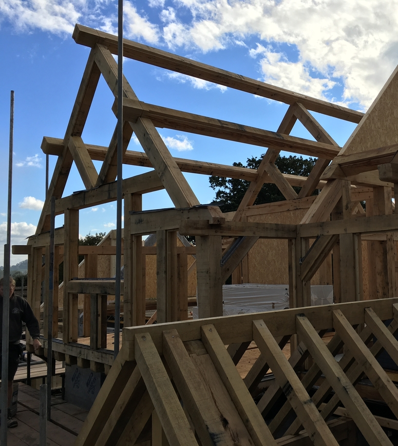 Gable end frame