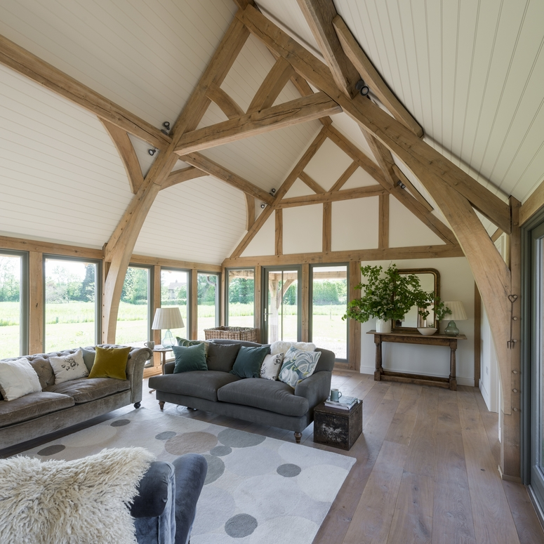 An Oak Frame Home Built For Under 200k: Award Winning Bespoke Oak Framed Buildings