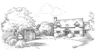 Border Oak Show House plan