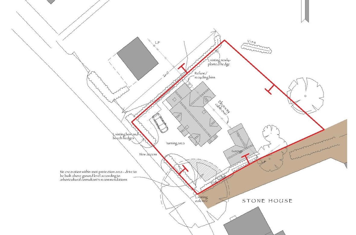 Ledgemoor Site Plan