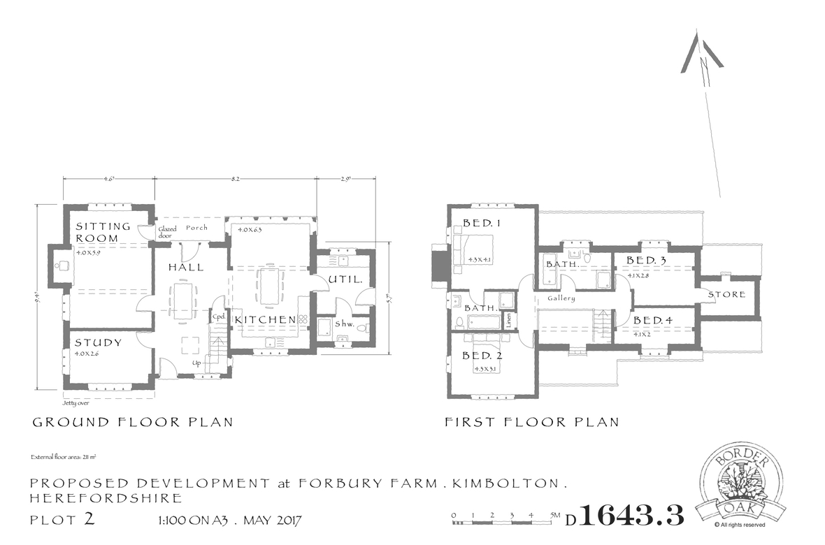 Forbury Orchard Plot 2 Layout