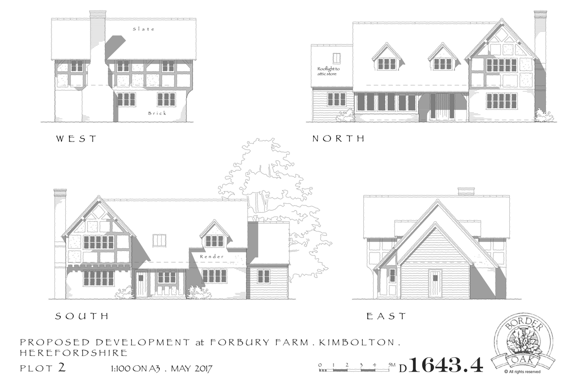 Forbury Orchard Plot 2 Elevations