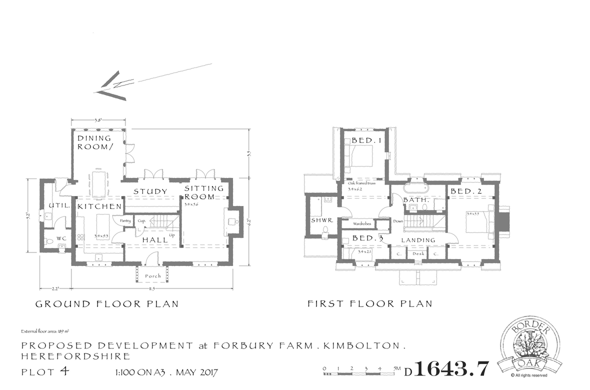 Forbury Orchard Plot 4 Layout